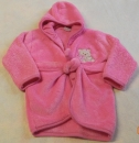 Fleece Bademantel Gr. 80 von Smily (2275)