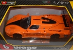 Bburago Maserati MC 12 orange, 21078, NEU, OVP, Modellauto