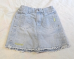 Jeansrock Gr. 122 von Pretty for Girls (1637)